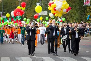 Парад духового оркестра