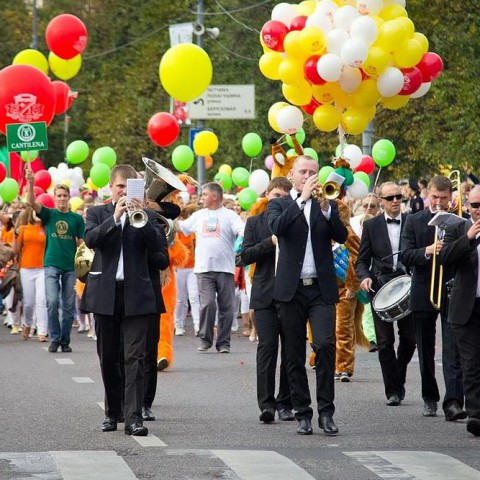 Парад с оркестром
