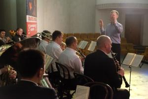 Репетиция духового оркестра