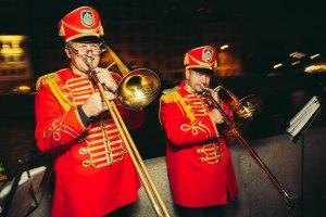 Тромбоны духового окестра