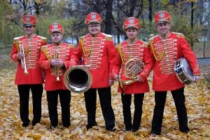 Духовой оркестр Звуки осени в екатерининском парке