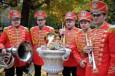 Звуки осени в екатерининском парке