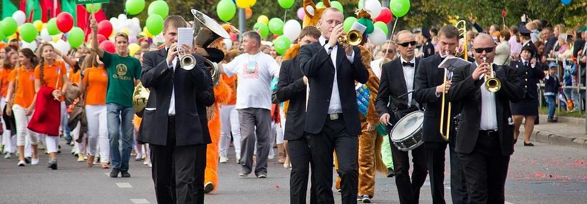 Заказать Оркестр для проведения парада