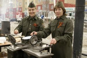 Военная полевая кухня