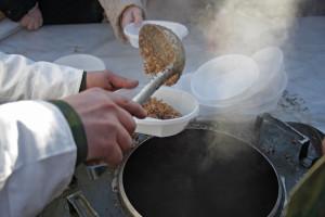 Организация полевой кухни
