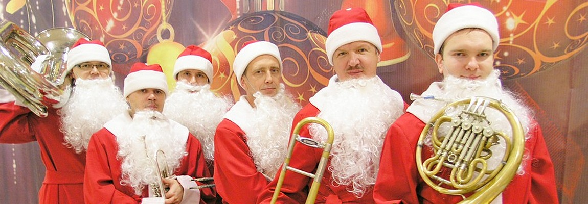 Заказать Оркестр Дед Морозов и Санта Клаусов