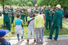 Пожарный оркестр в Москве