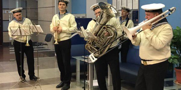 Морской оркестр на свадьбу