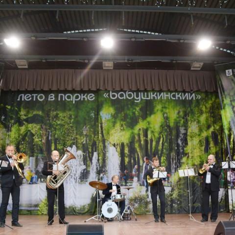 Оркестр в Бабушкинском парке