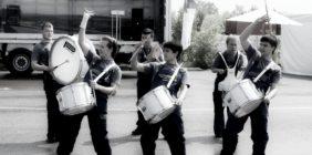 Барабанщики Вольво