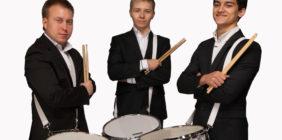 Барабанщики трио